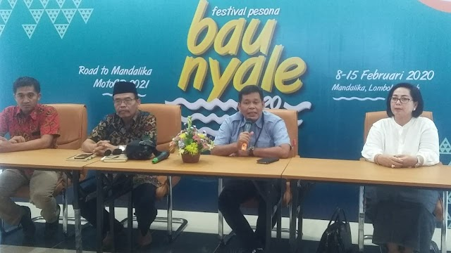 Festival Bau Nyale, Event Pembuka Menuju MotoGP 2021, Target Raup Jutaan Wisatawan