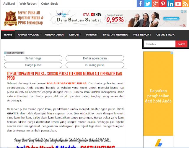 Cara Mendapatkan Fasilitas Web Blog Pemasaran Online Secara Gratis di TOP Auto Payment