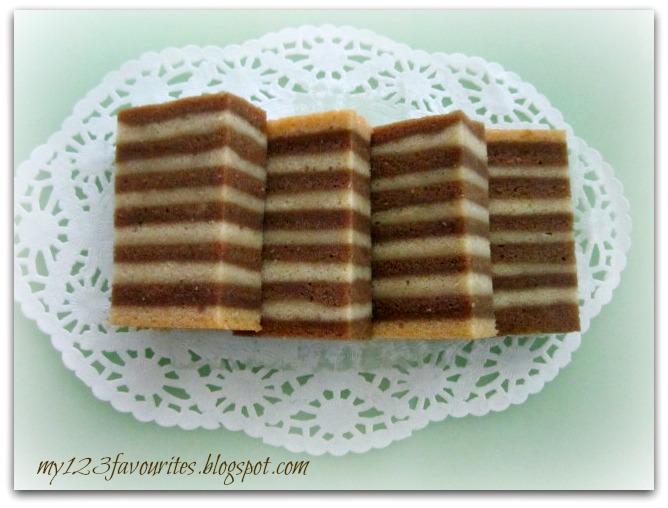 Steamed Horlick Cake Recipe