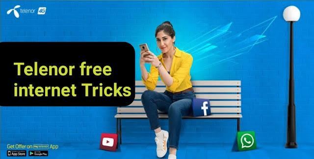 Telenor free internet code
