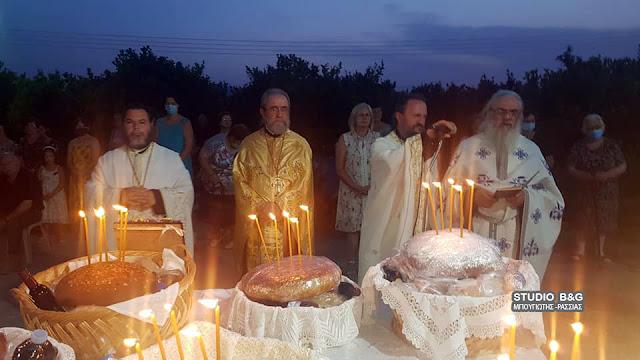 Η εορτή των Αγίων Αναργύρων στο Νέο Ηραίο Αργολίδας
