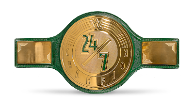 current WWE 24/7 champion title holder
