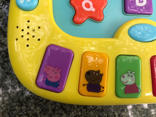 Peppa pig electronic learning toys