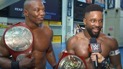 Shelton Benjamin MVP Tag Raw Hurt Business Cedric Alexander