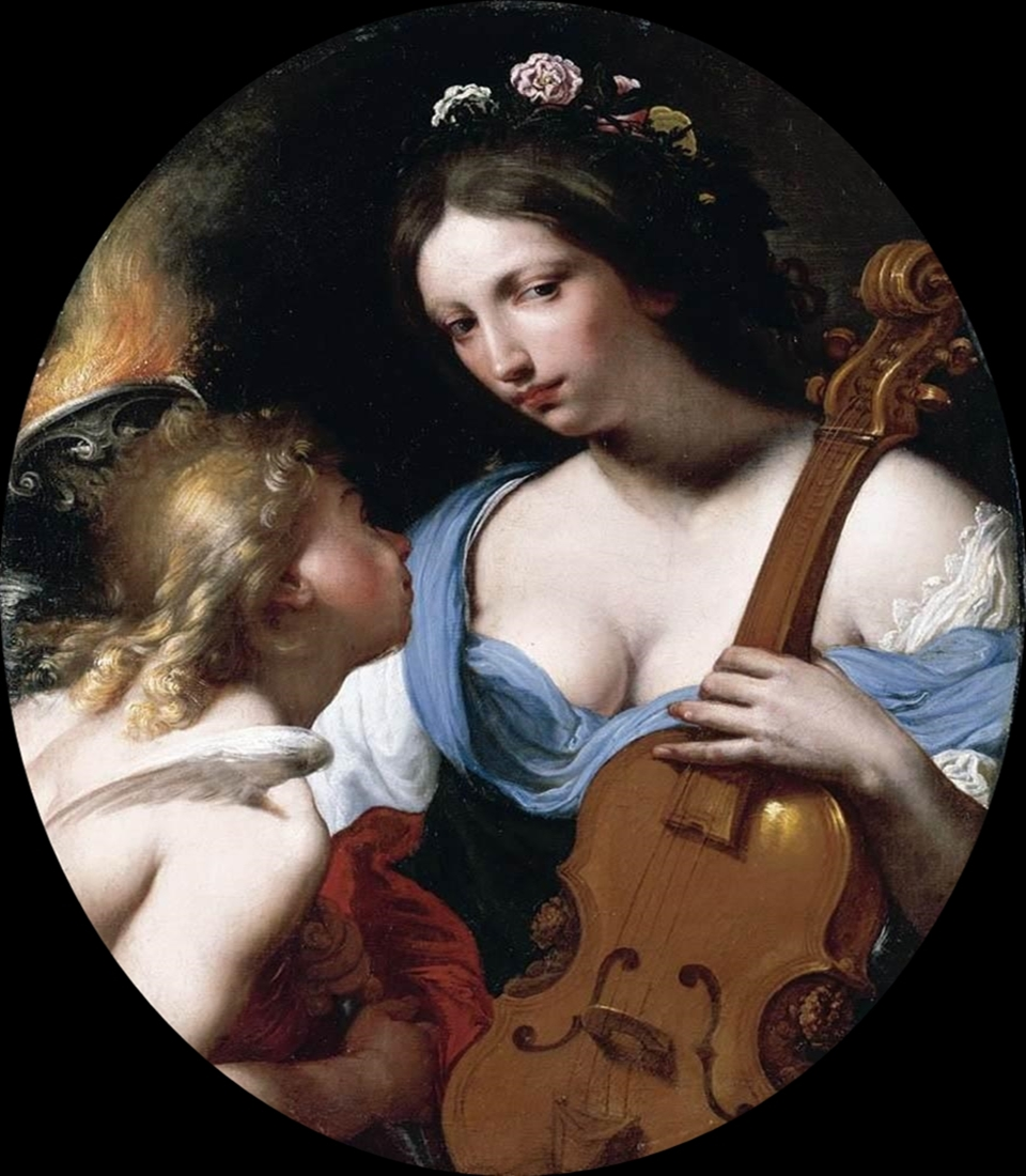 Antonio Franchi Personification of Music Saint Cecilia