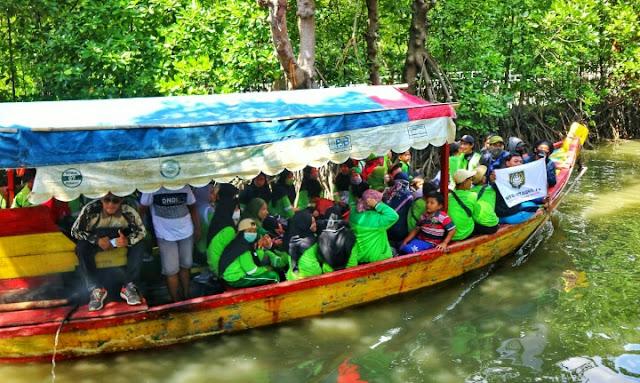 Mapai Jalan Satapak, Di Era New Normal MTs Attaqwa 15 Gowe's Bareng Ke Tiga Lokasi Wisata Pesisir Pantai Di Kab.Bekasi
