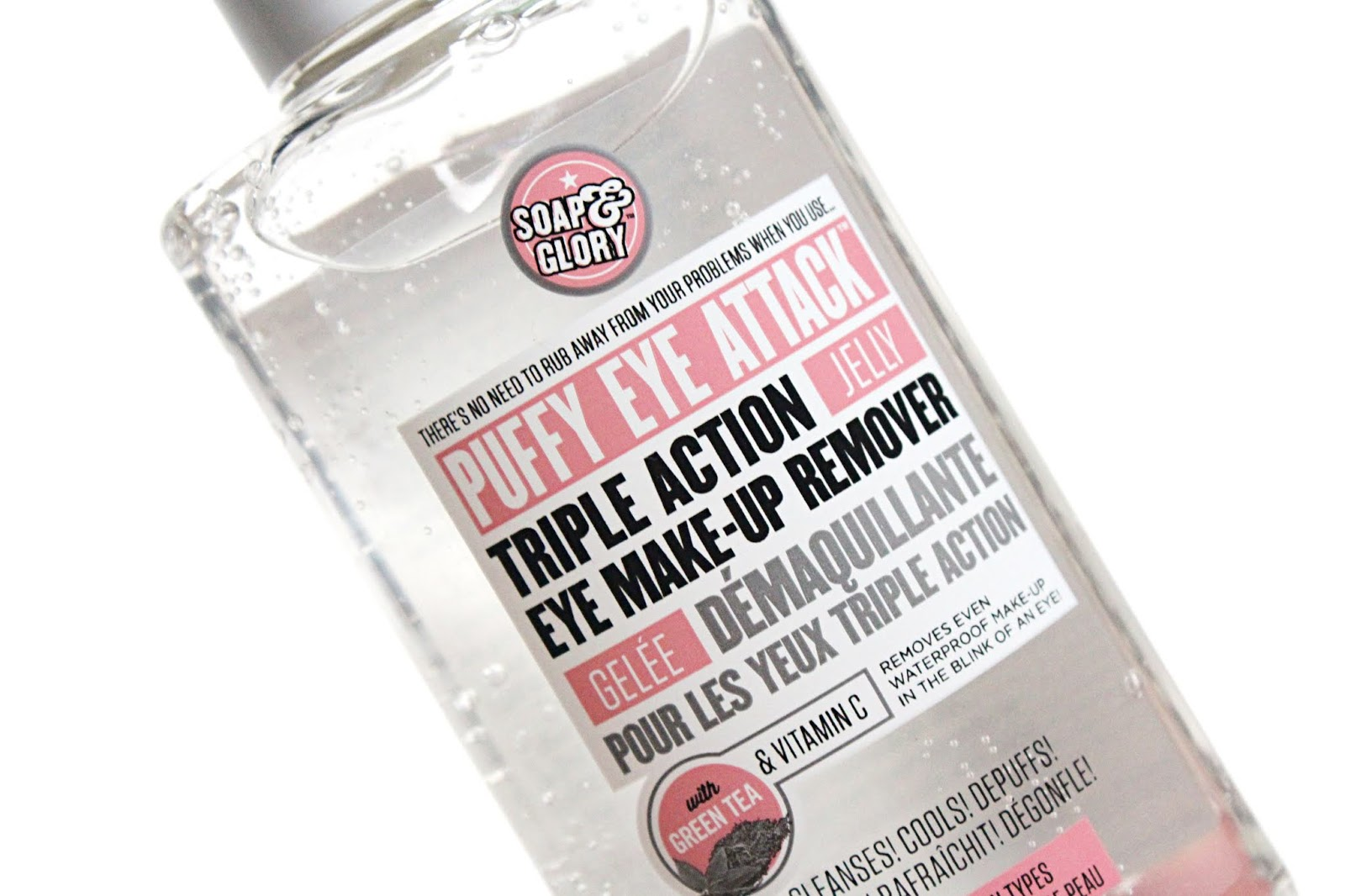 Soap & Glory Puffy Eye Attack Makeup Remover Review