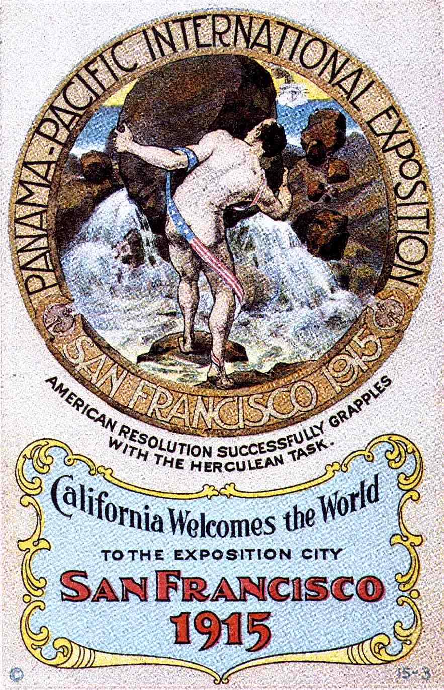 1915 WORLD'S FAIR poster 2