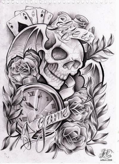 Rip Tattoo Death Friedhof Friedhof Tattoo