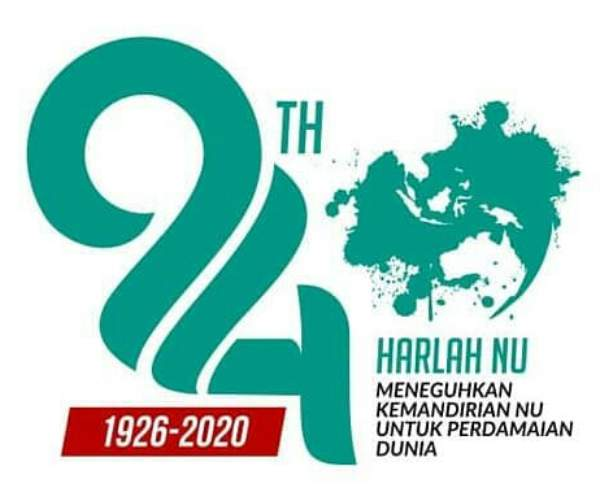 Gambar Logo dan Tema Harlah NU Ke 94 Tahun 2020