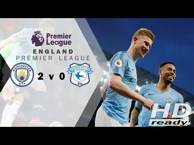 Manchester City vs Cardiff City 2-0 Football Highlights and Goals 2019