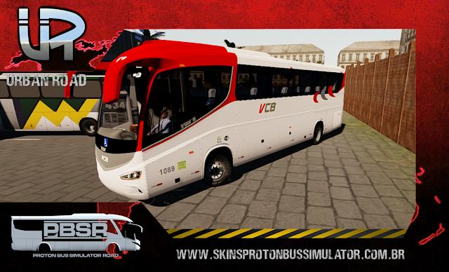 Skin Proton Bus Simulator Road - Irizar I8 Volvo B410R Viação Campo Belo