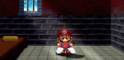 Super Mario Sunshine jail cell