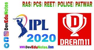 IPL 2020 statistics, आईपीएल 2020