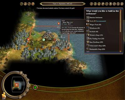 Civilization 4 Colonization Game Screenshots 2008
