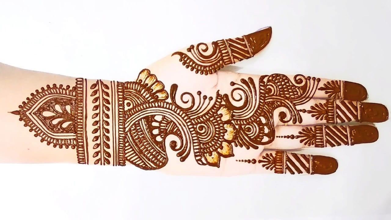 Full Hand Intricate Mehndi Design