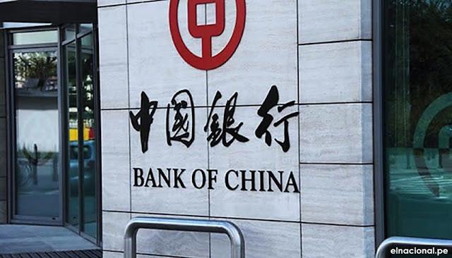 Bank of China (Perú): la SBS autoriza funcionamiento de nuevo banco chino en Perú