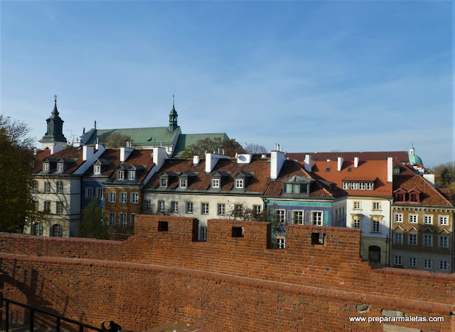 muralla de Varsovia, Polonia