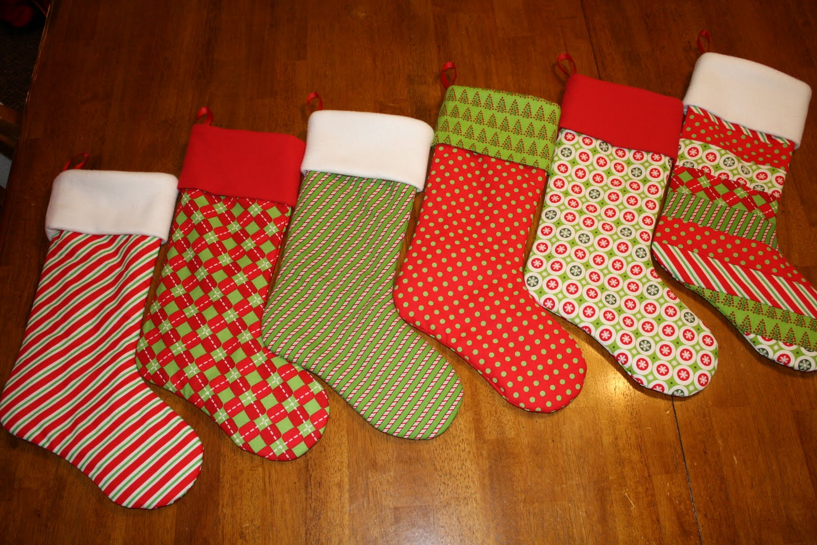 Easy To Make Christmas Stockings