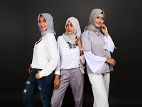 Simak yuk Tren hijab terbaru 2019