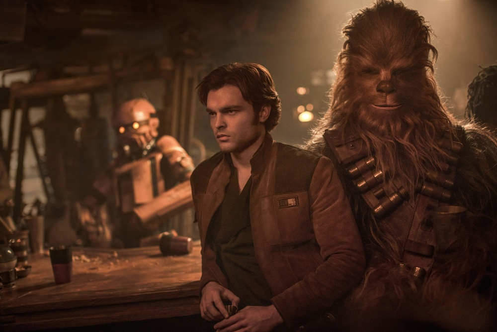 Solo A Star Wars Story: speciale clip backstage sulle creature ei droidi