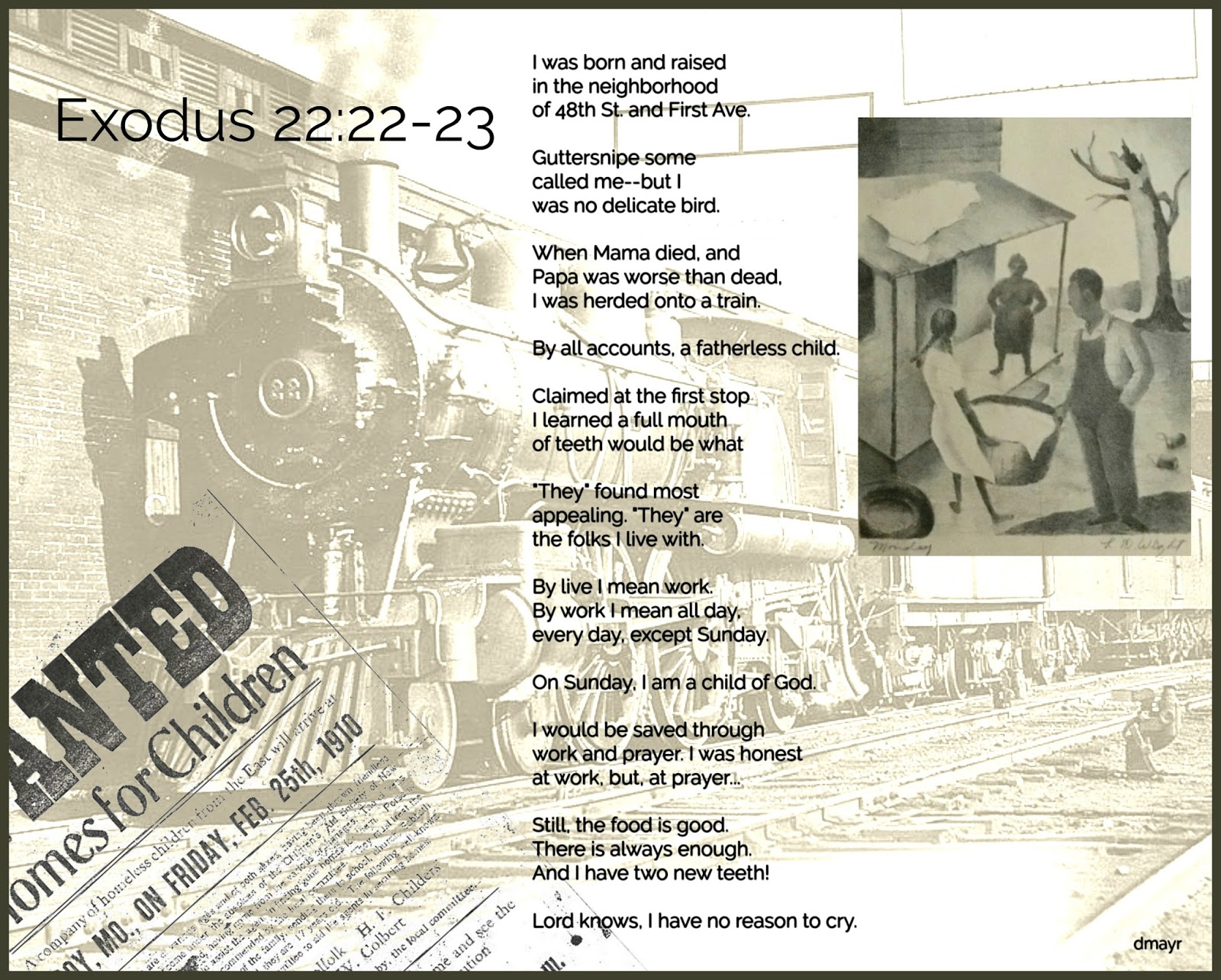 February 23 - scenario of the celebration in verse