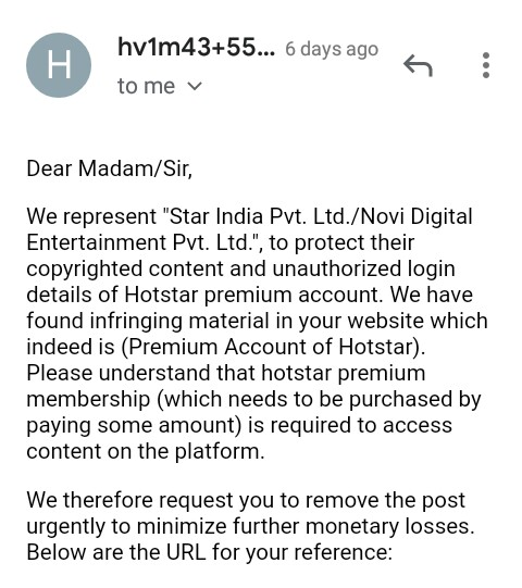 100% Working Hotstar Premium Accounts For Free -2019