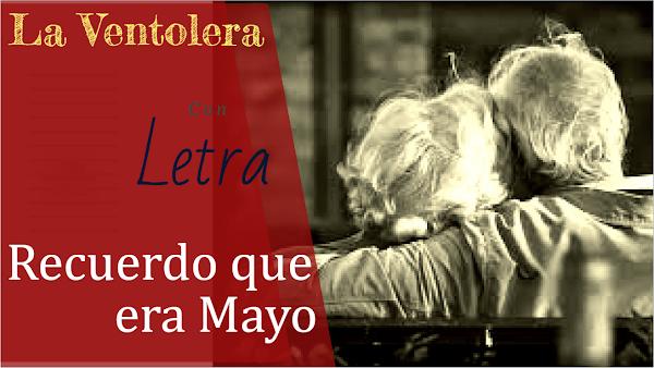 """Pasodoble Amor✍CON LETRA✍ de Antonio Martines Ares. """"Recuerdo que era Mayo"""" de """"La Ventolera """"(1994)"""