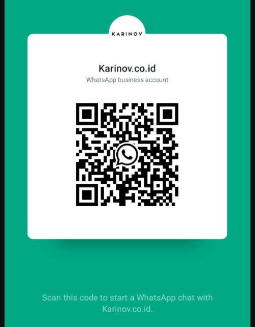 tampilan share barcode whatsapp