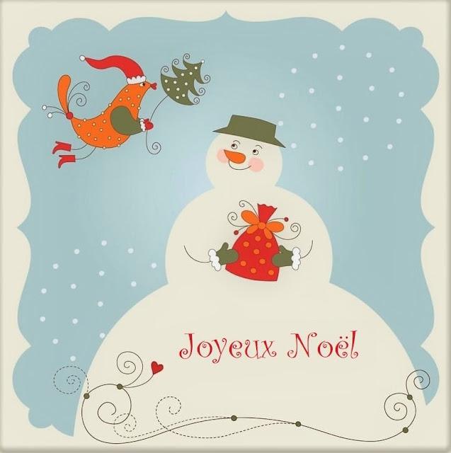 Carte de voeux : Joyeux Noël