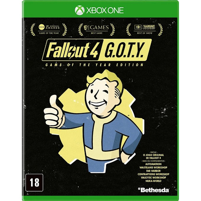 Jogo Fallout 4: Game of the Year Edition [Xbox One]