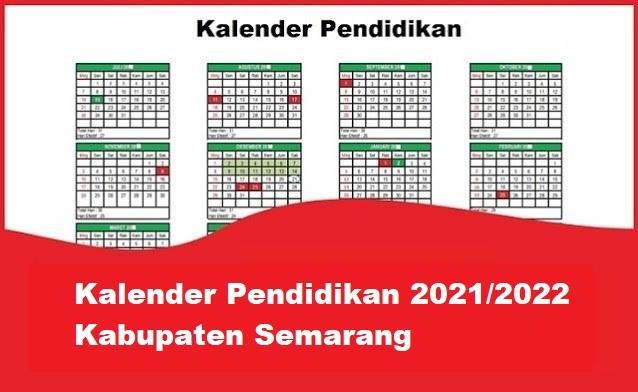 kalender pendidikan kabupaten semarang