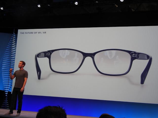 No futuro o RV e RA serão parecidos com óculos comuns