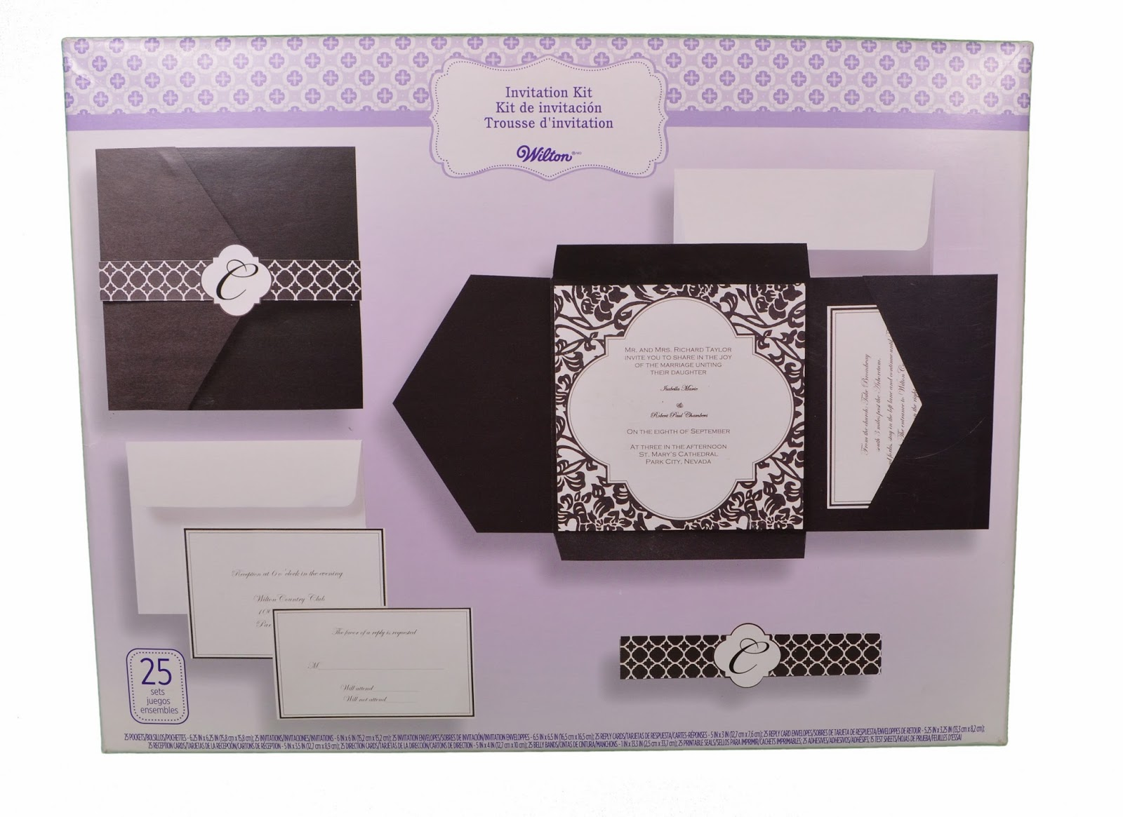 Modern Wedding Invitations: Homemade Wedding Invitation Kits
