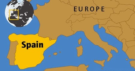 Kids Map Of Spain.Spain For Kids Childhood Education