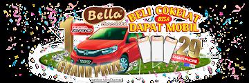 Promo Cokelat Bella Berhadiah Honda Brio dan 29 Vivo V15