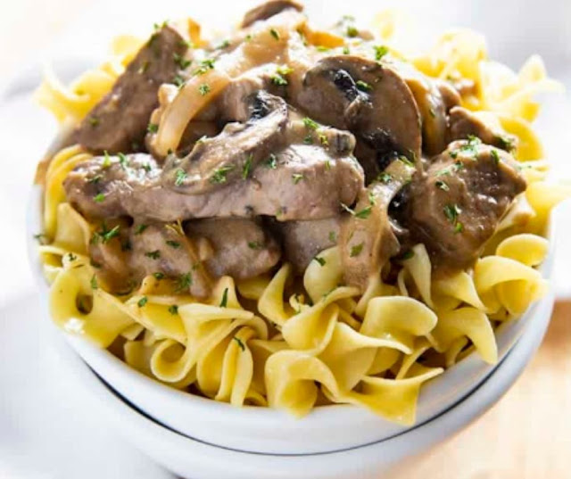 Easy Homemade Beef Stroganoff