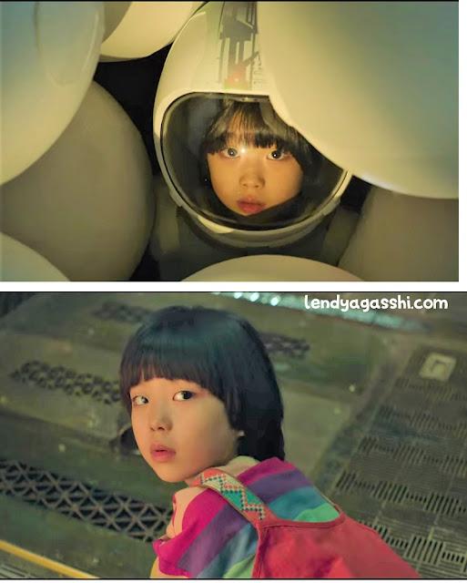 Dorothy, anak kecil yang ditemukan di Space Sweeper