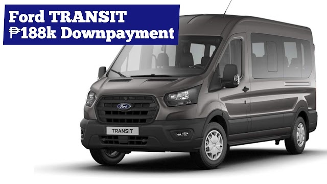 2020 Ford TRANSIT VAN Low Down Installment Promos (Ford Batangas)