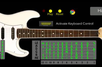 Aplikasi Bermain Gitar di PC