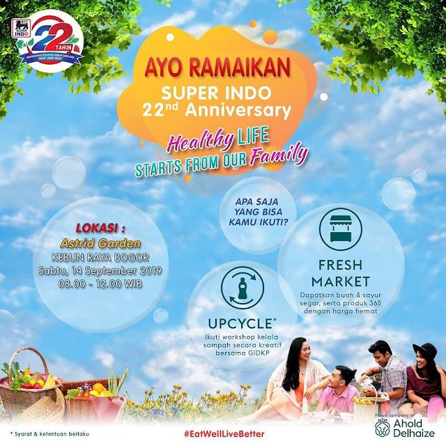 #Superindo - #Promo Event Fresh Market & Upcycle Workshop di Bogor (14 Sept 2019)