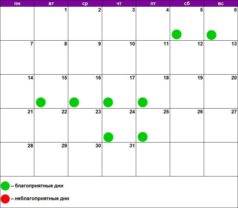 Лунный календарь массажа октябрь 2019