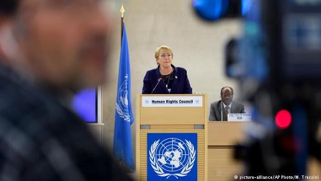 Ketua ULMWP Menyerahan Petisi West Papua Kepada Komisaris Tinggi PBB