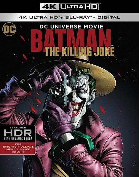 Batman: The Killing Joke 4K (2016) 2160p 4K UltraHD HDR BluRay REMUX 45GB mkv Dual Audio DTS-HD 5.1 ch