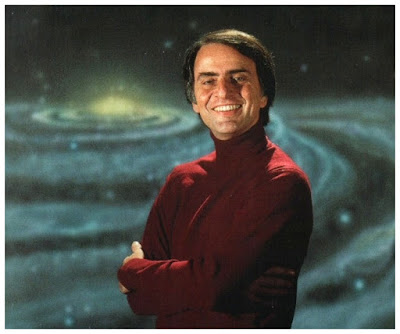 Carl Sagan afirmou que existe vida ativa na atmosfera de Vênus.