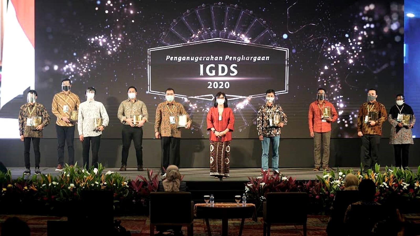 Promithevo Menerima Penghargaan Grand Award Design Concept IGDS 2020