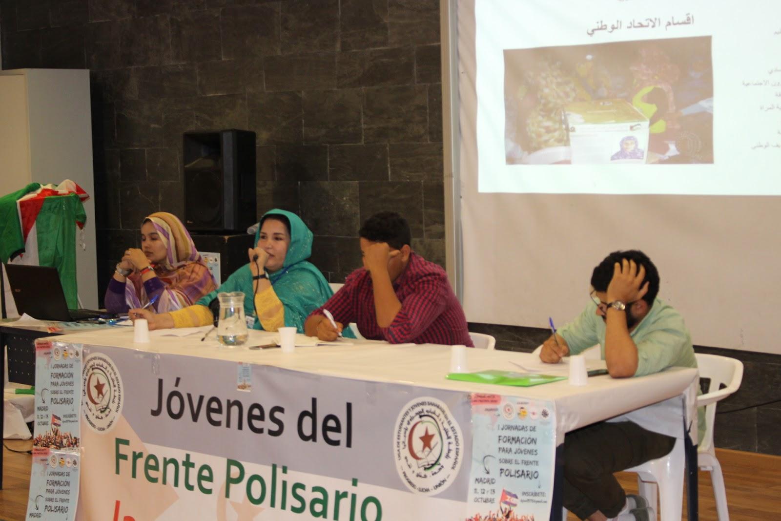 """Las mujeres saharauis tenemos un papel fundamental en la lucha de la  liberación Nacional""""."""