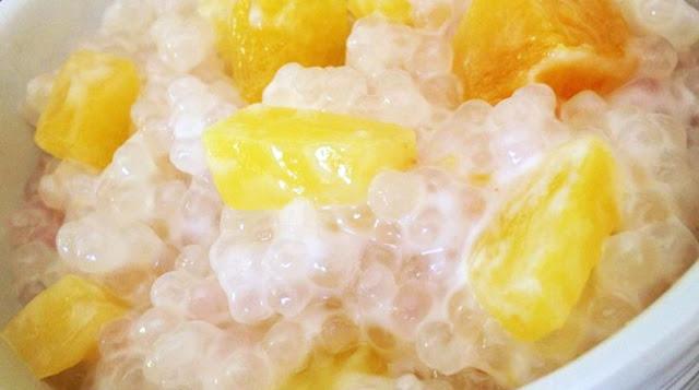 Pudding au Tapioca et à la banane