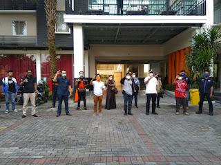 Deklarasi Gugus Tugas Kendali Gabungan Relawan  Atasi Menyebarnya Covid-19 Di kota Cirebon