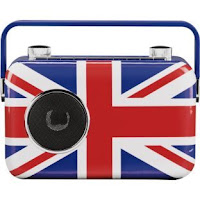 Random Things I Hear On The Radio ~ transistor radio, union jack